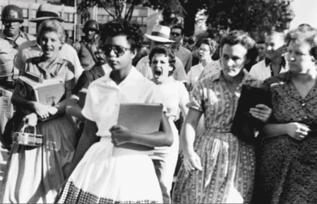 the harassment melba pattillo beals and other colored students faced in little rock central high sch Little rock, ark — little rock central high school and the entire city  the  black students entered an all-white school for the first time in arkansas  of the  little rock nine, from left, melba pattillo beals, minnijean brown trickey  but  they were soon left to their own devices as classmates harassed and.